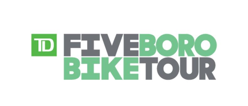 TD Five Boro Bike Tour Logo