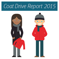 New York Cares Coat Drive People with Coats