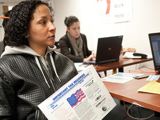 New Yorkers get their taxes prepared free of charge.