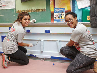 Support NYC students on New York Cares Day for Schools
