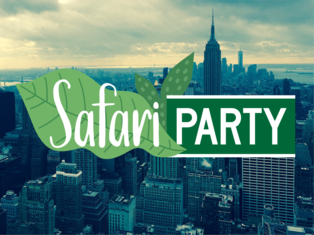 Safari-themed party in NYC