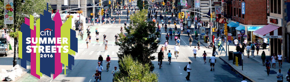 Each August, Summer Streets provides a car-free and carefree Manhattan..