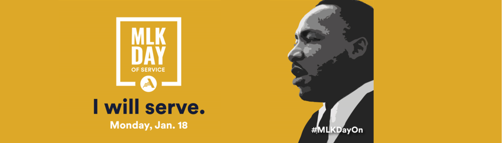 Logo for 2021 MLK Day of Service