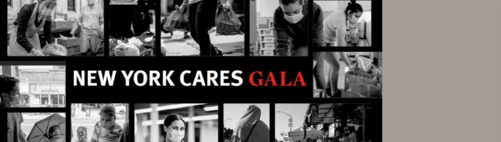 New York Cares Gala invitation image for homepage carousel slider